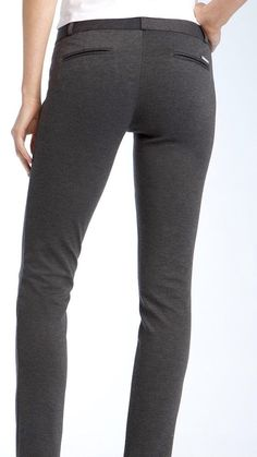 Michael Kors Derby Gray Women's Luxurious Skinny Pants Size 10 X 30 NWT $99 #MichaelKors #CasualPants