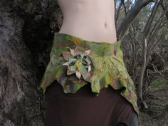 felted pixie/elf belt or skirt - Google Search