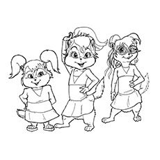 Does your kid like the chipmunks called Alvin, Simon & Theodore? Now you can give your kid these fun free & printable Alvin and the Chipmunks coloring pages