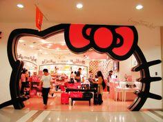 Hello Kitty Store - Tokyo, Japan @Julie Hoang