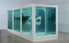 The Physical Impossibility of Death in the Mind of Someone Living, 1991, Damien Hirst