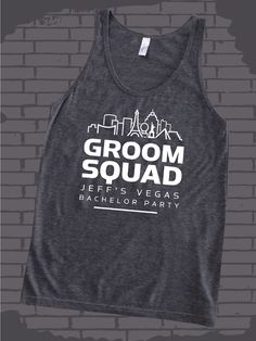 b530120284f50 Groom Squad design idea for custom bachelor party t-shirts