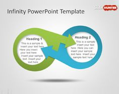 Infinity PowerPoint Template is a free editable diagram and PPT template that you can download with an infinite design