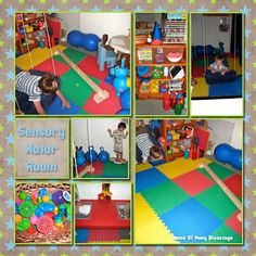 Autism therapy sensory gym therapy ot pt ideas games for Fitness 19 kids room