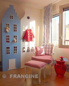 Hollands babykamer, leuke kasten van kastvaneenhuis in div. kleuren
