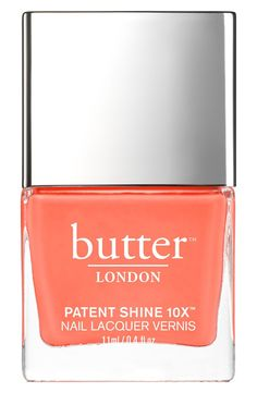 How gorgeous is this Butter London nail lacquer color? It's absolute perfection for spring.