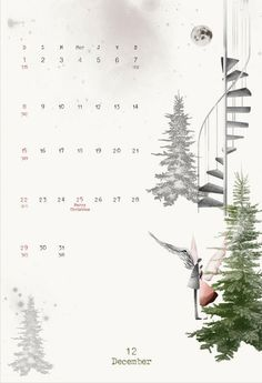 2013 calendar December/Decembre