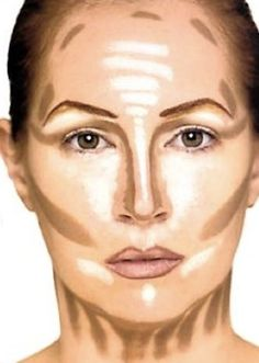 Contour  Highlighting Graph for a glowing, perfect complexion. Blend well of course!