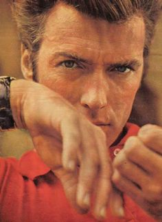 CLINT EASTWOOD. So hot. And literally keeps getting better with age.