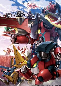 gurren lagann robot stages - Google Search