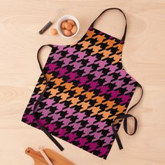 Hounds Tooth, Chiffon Tops, Purple, Pink, Lesbian, Print Design, Apron, Finding Yourself, Art Prints