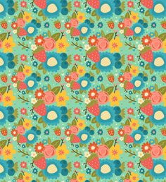 Surface Pattern by Steph Baxter, via Behance