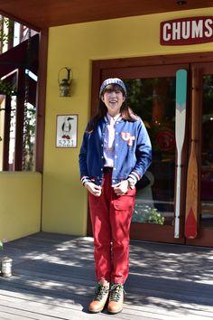 CHUMS Utah Varsity Jacket