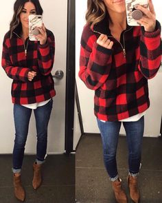 Dress Plus Size Winter Shops 54 Ideas For 2019 Plaid Outfits, Stylish Outfits, Cool Outfits, Stylish Clothes, Old Navy Outfits, Clothes Sale, Look Fashion, Fashion Outfits, Womens Fashion