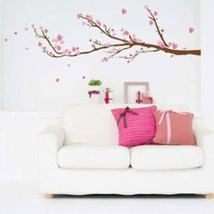 Sticker Cerisier 50 cm x 70 cm | Leroy Merlin