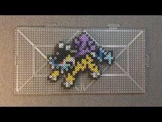 Legendary Pokemon: Perler Bead Raikou - YouTube