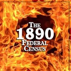 1890 Census - Survivors  The U. S. Federal Census has been done every ten years at the beginning of each news decade. That was true for the June 1890 census. Only years later, in 1921 there was a massive fire in the building housing that 1890 census and most of the paper documents were destroyed – this long before digital copies became available. #census #1890Census #genealogy #familytree