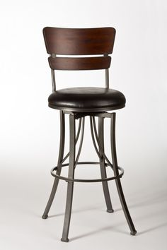 A modern take on an old schoolroom classic, the Santa Monica Stool is reminiscent of elementary school desk chairs, with a few grown-up twists. Constructed of distressed cherry wood, the two-paneled b