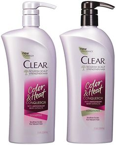 Clear Color  Heat Conqueror Shampoo  Conditioner Bundle * Continue to the product at the image link.Note:It is affiliate link to Amazon.