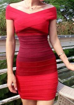 Contrasted Splicing Bodycon Dress - Features Boat Neckline Dress