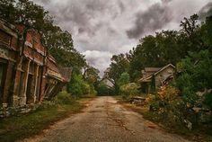 Abandoned town. Millbrook Alabama.