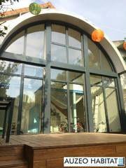 Menuiserie En Aluminium Technal Style Atelier Coloris Gris Anthacite
