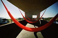 TDA House / Cadaval & Solà-Morales #hammock