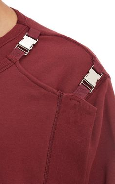 Sometimes just a special clasp makes all the difference in the detail. Sew with Threadhead TV. ~Hood by Air Panel-Layered Sweatshirt at Barneys.com
