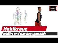 Übungen bei Hohlkreuz / Faszien Übungen / Rückenübungen / Übungen Rückenschmerzen - YouTube