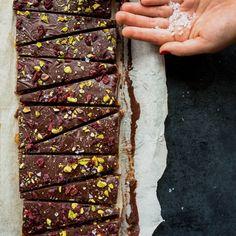 Barres santé dattes choco et quinoa soufflé   K pour Katrine