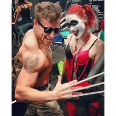 Pin for Later: 20+ Epic Cosplays From New York Comic Con Wolverine and Harley Quinn