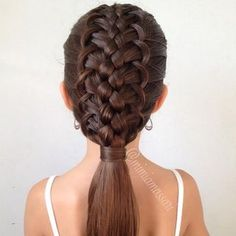 French loop Braid Updo | Hair and Beauty Tutorials | Bloglovin