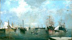 Joaquín Sorolla Bastida (1863-1923). Marina. 1880. Museo Sorolla, Madrid, Spain.