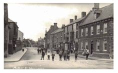 Almshouse street, now Market Street, in the late century. Family History, 19th Century, Street View, Places, Genealogy, Lugares