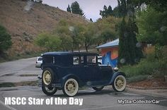 MSCC Nov 14 Star of the Day- '31 Model A.Coolest summer ride on the planet. Read why: http://www.mystarcollectorcar.com/3-the-stars/40-model-stars/2504-mscc-southside-star-of-the-day.html #31ModelA