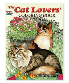 The Cat Lovers Coloring Book Zulily Zulilyfinds
