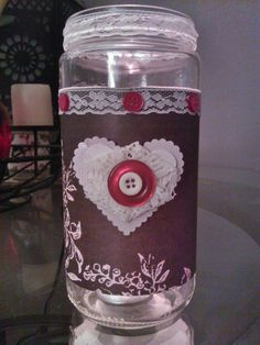 ~Christle's Creations~ Mason Jar Candle