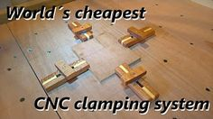 Making new and better CNC clamps (free templates) - YouTube
