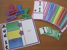 Add It math game -- free to print