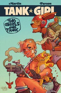 Tank Girl: Two Girls One Tank #2 #TitanComics @titancomics @ComicsTitan #TankGirl Release Date: 6/15/2016