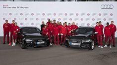 Jakie nowe Audi wybrali piłkarze FC Bayern Monachium? R. Lewandowski postawił na RS7 - Top Gear