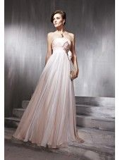 2012 Pink Strapless Tencel Formal Dress-wyo
