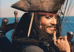 "*grin*  Favorite movie - ""Pirates of the Caribbean: Curse of the Black Pearl"""