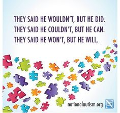 Is my child Autistic? Autism or ASD (Autism Spectrum Disorder) is a learning disorders which can be detect as early as 7 months to 2 years Autism Awareness Quotes, Autism Quotes, Autism Awareness Month, Disability Awareness, Disability Quotes, Autism Humor, Autism Signs, Autistic Children, Special Education