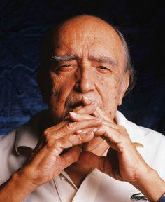 Oscar Niemeyer (1907-2012). Arquiteto brasileiro.   Architecture is important, but life is more important than Architecture. -- Oscar Niemeyer