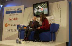 Louis Begley auf dem Blauen Sofa 2003
