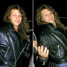 Jon Bon Jovi circa 1991 @shes_a_little_runaway | Instagram