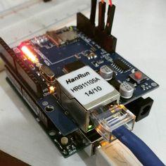 Hoje é dia de IoT! #IoT #arduino by mandrakex