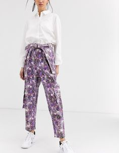 Order ASOS DESIGN purple snake leather look utility pant online today at ASOS for fast delivery, multiple payment options and hassle-free returns (Ts&Cs apply). Get the latest trends with ASOS. Purple Snake, Fashion Pants, Parachute Pants, Latest Trends, Harem Pants, Asos, Leather, Characters, Shopping