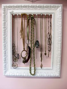 34 maneiras simples de organizar colares | umbrinco